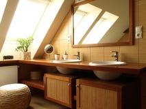 Tapa del cuarto de baño Foto de archivo libre de regalías