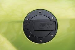 Tapa del depósito de gasolina del coche fotografía de archivo