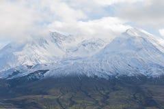Tapa del glaciar del santo de montaje Helens fotografía de archivo