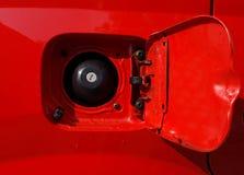 Tapa del tanque del coche fotos de archivo