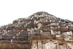 Tapa del templo Konark de Sun Fotografía de archivo libre de regalías
