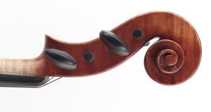 Tapa del violín Imagen de archivo
