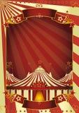 Tapa grande del circo agradable Imagen de archivo libre de regalías
