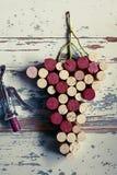 Tapa la uva con corcho Fotos de archivo libres de regalías