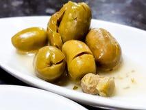 Tapa olive Photos libres de droits
