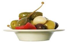 Tapa olive Image stock