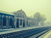 Tapa Railway station Royalty Free Stock Images