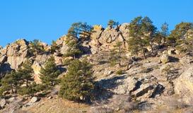 Tapa rocosa de Ridge foto de archivo libre de regalías