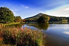 Tapa sostenida del lago Abbott Imagen de archivo