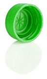 Tapa verde con la reflexión Imagen de archivo libre de regalías