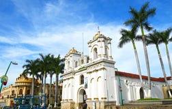 Tapachula, город и муниципалитет расположенные в далеком к юго-западу от государства Чьяпаса в Мексике, около границы Гватемалы стоковая фотография