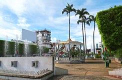 Tapachula, ist eine Stadt und ein Stadtbezirk, die im weiten südwestlich des Staates von Chiapas in Mexiko, nahe Guatemala-Grenze stockbild