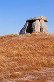 Tapadao dolmen in Crato, the second biggest in Portugal. Stock Images
