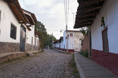 Tapalpa Streets and Homes Stock Photos