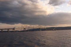 Tapan Zee桥梁 库存图片