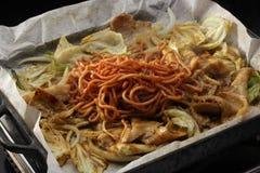 Tapanyaki Royalty-vrije Stock Foto