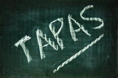 Tapas Stock Image