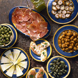 Tapas. Food, gastronomy,culinary,cookery Royalty Free Stock Photography