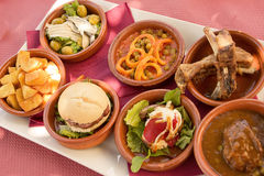 Tapas in Andalucia (Spain) Stock Photo
