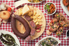Tapas, antipasto, meze Royalty Free Stock Images
