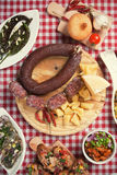 Tapas, antipasto, meze Stock Photo