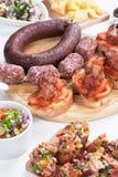 Tapas, antipasto, mezze Stock Image