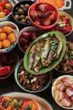 Tapas, antipasto or mezze Stock Photo