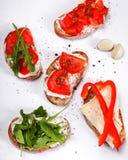 Tapas appetizers Stock Image