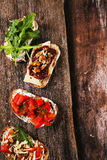 Tapas appetizers Stock Photography