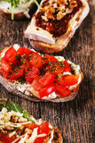 Tapas appetizers Royalty Free Stock Photo