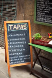 Tapas bar in gothic quarter Barcelona Stock Photography