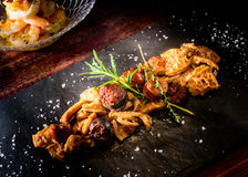 Tapas Callos a la Madrilena Typical from Madrid Stock Photo