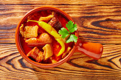 Tapas Callos madrilena typical from Madrid Stock Image