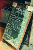 Tapas chalkboard Royalty Free Stock Images
