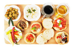 Tapas collection Stock Images