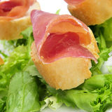 Tapas de jambon de Serrano Photo stock