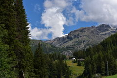 Tapas de la montaña Imagen de archivo
