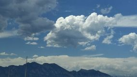 Tapas de la montaña rocosa Fotografía de archivo libre de regalías