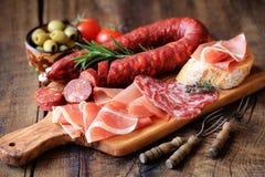 Tapas della carne Immagine Stock Libera da Diritti