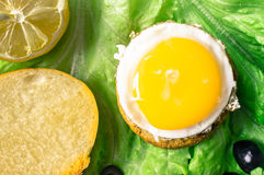 Tapas with egg Stock Photography