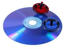 Tapas en el CD Imagen de archivo