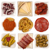 Tapas espagnols Photo stock