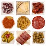 Tapas espanhóis Foto de Stock