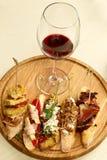 Tapas espanhóis deliciosos Fotos de Stock Royalty Free