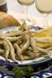 Tapas espanhóis. Marisco fritado. Imagem de Stock Royalty Free