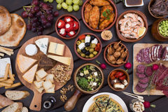 Tapas food Royalty Free Stock Photo