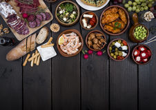 Tapas food Royalty Free Stock Photography