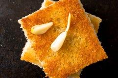 Tapas with garlic cloves Stock Image