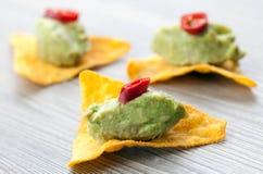 tapas guacamole стоковые изображения rf