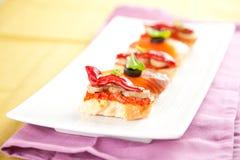 Tapas, nourriture de l'Espagne Photographie stock libre de droits